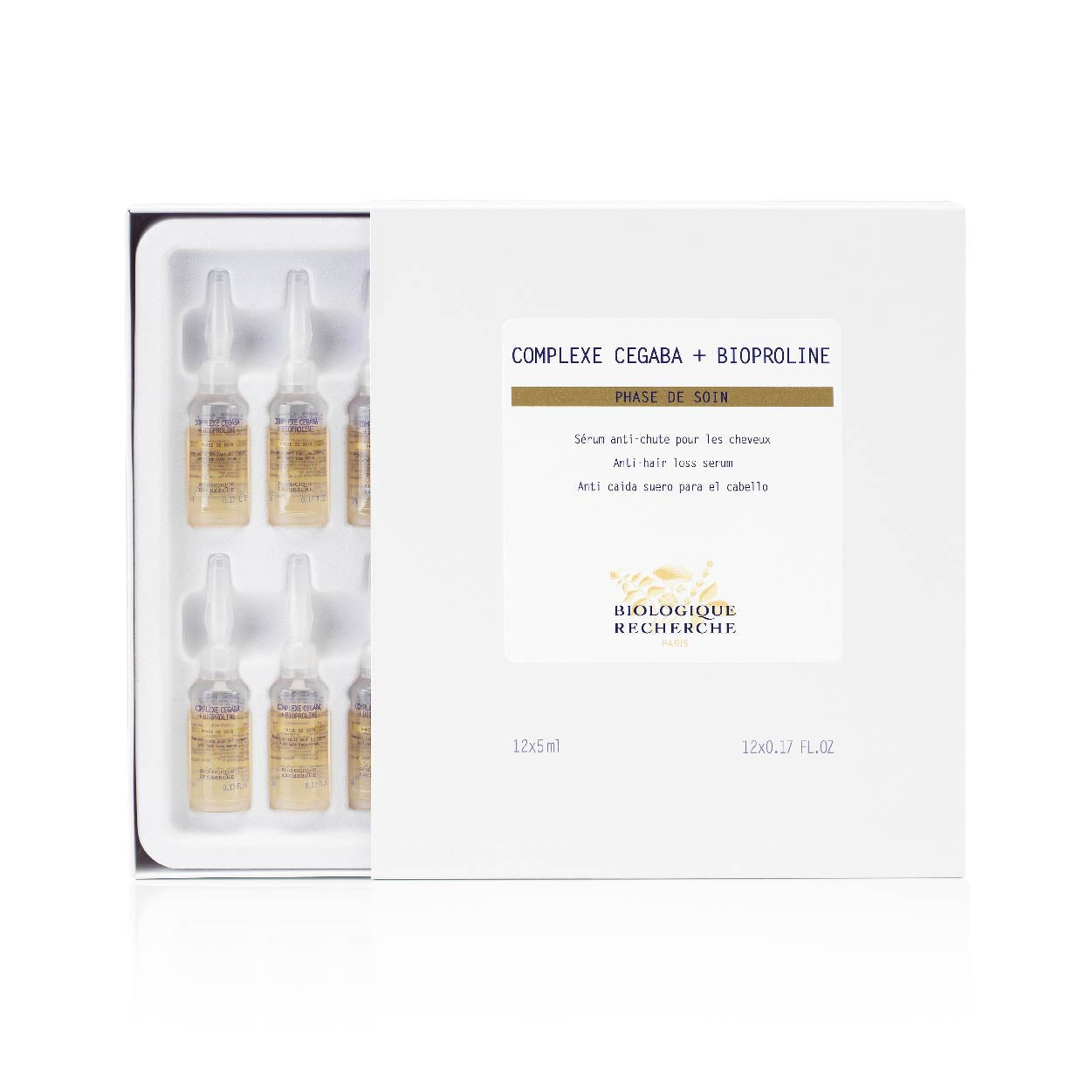 Biologique Recherche - Complexe Cegaba + Bioproline  <br>  (FOR DETERIORATED, THINNING HAIR)