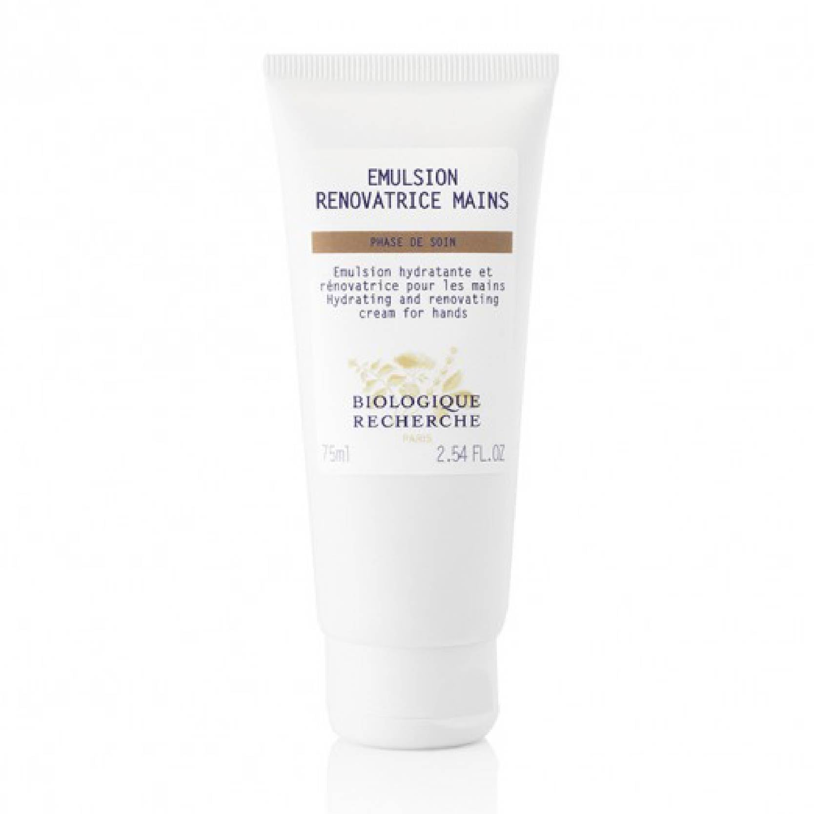 Biologique Recherche - Emulsion Renovatrice Mains   <br>  (FOR DRY, DEHYDRATED HANDS)