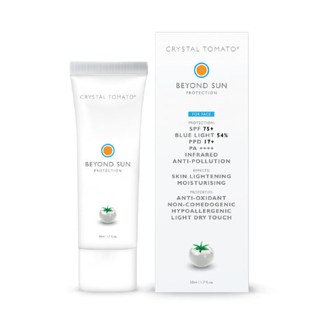 Crystal Tomato® - Beyond Sun Protection  <br>  (SUNSCREEN FOR ALL SKIN TYPES)