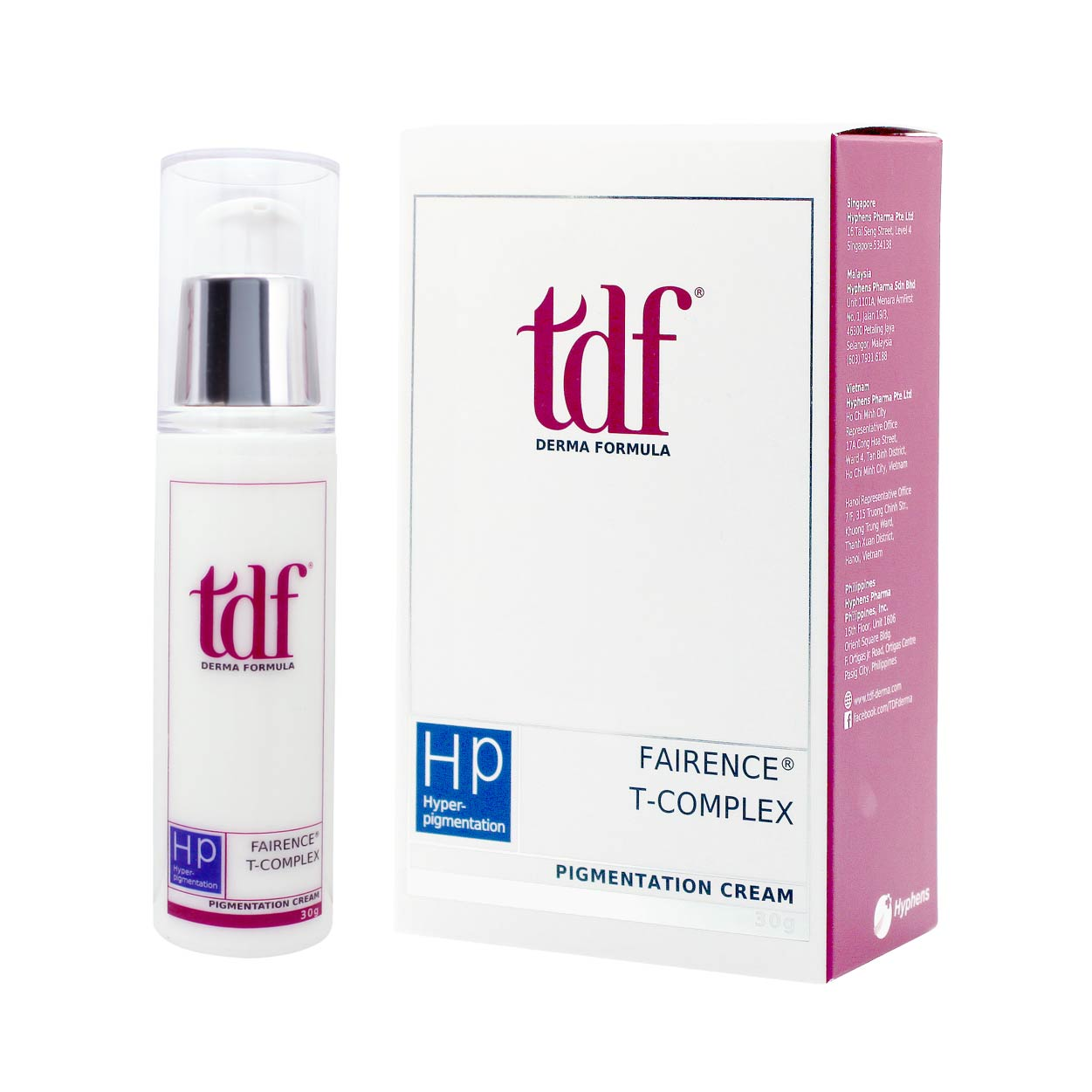Rewards: TDF Fairence® T-Complex