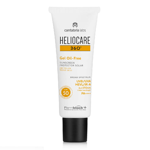 Heliocare 360º Gel Oil-free SPF 50 <br> (OIL-FREE SUNSCREEN)