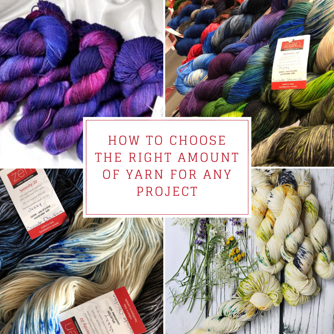 How to Choose The Right Amount Of Yarn For Any Project