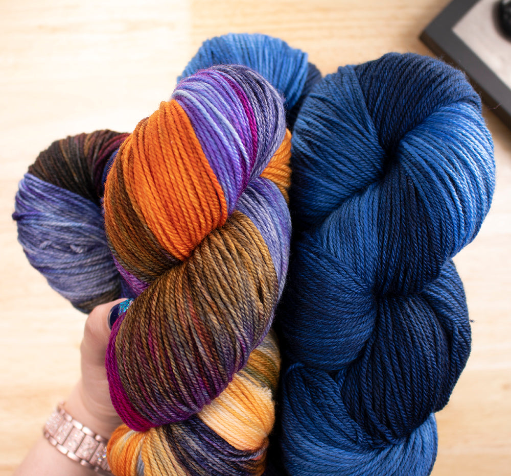 Why Do Hand-Dyed Skeins From the Same Dye Lot Vary?