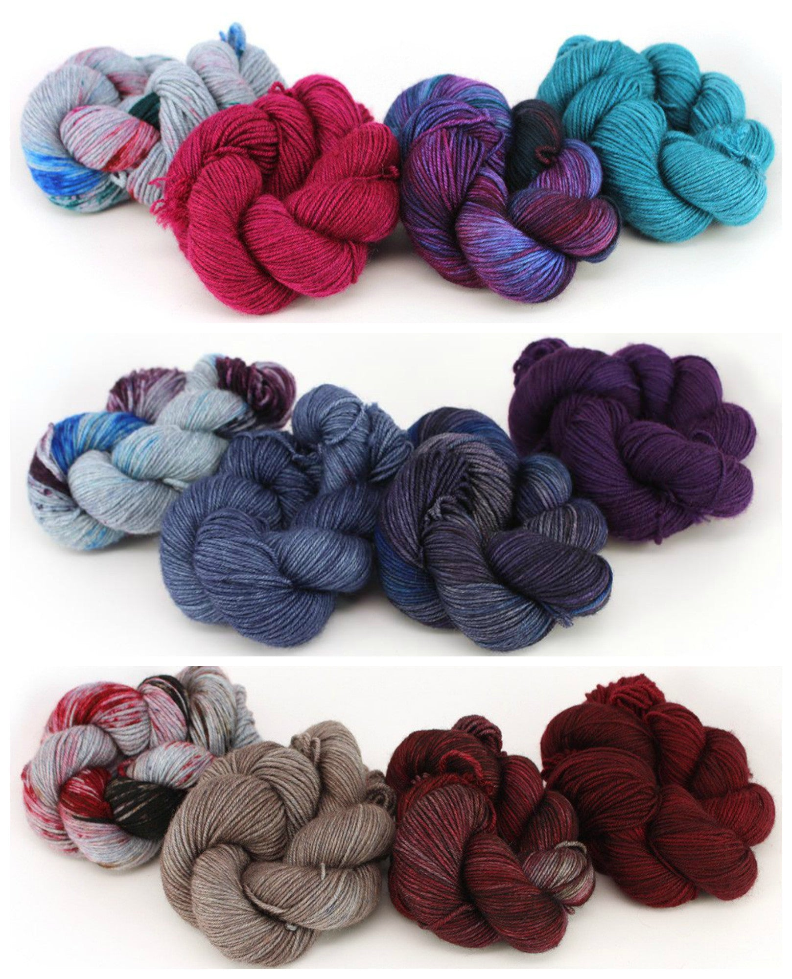 Knitting Patterns for Gradient Sets