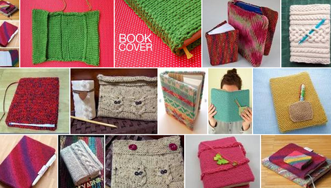 Knitted Book Cover Gift
