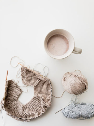 Knitters are more relaxed
