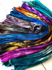 How to work with sock yarn blanks