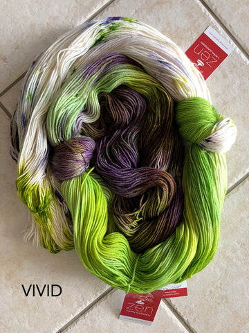 Vivid Set: Choosing the Perfect  Hand-Dyed Yarn Colours  for Knitting & Crochet Projects