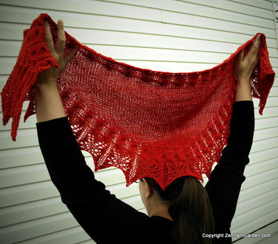 Treble Clef Shawl Kit