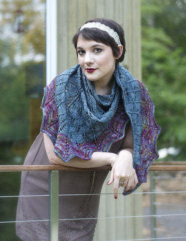OUT OF THE MIST - Minthe Shawl Kit (Pre-Order)