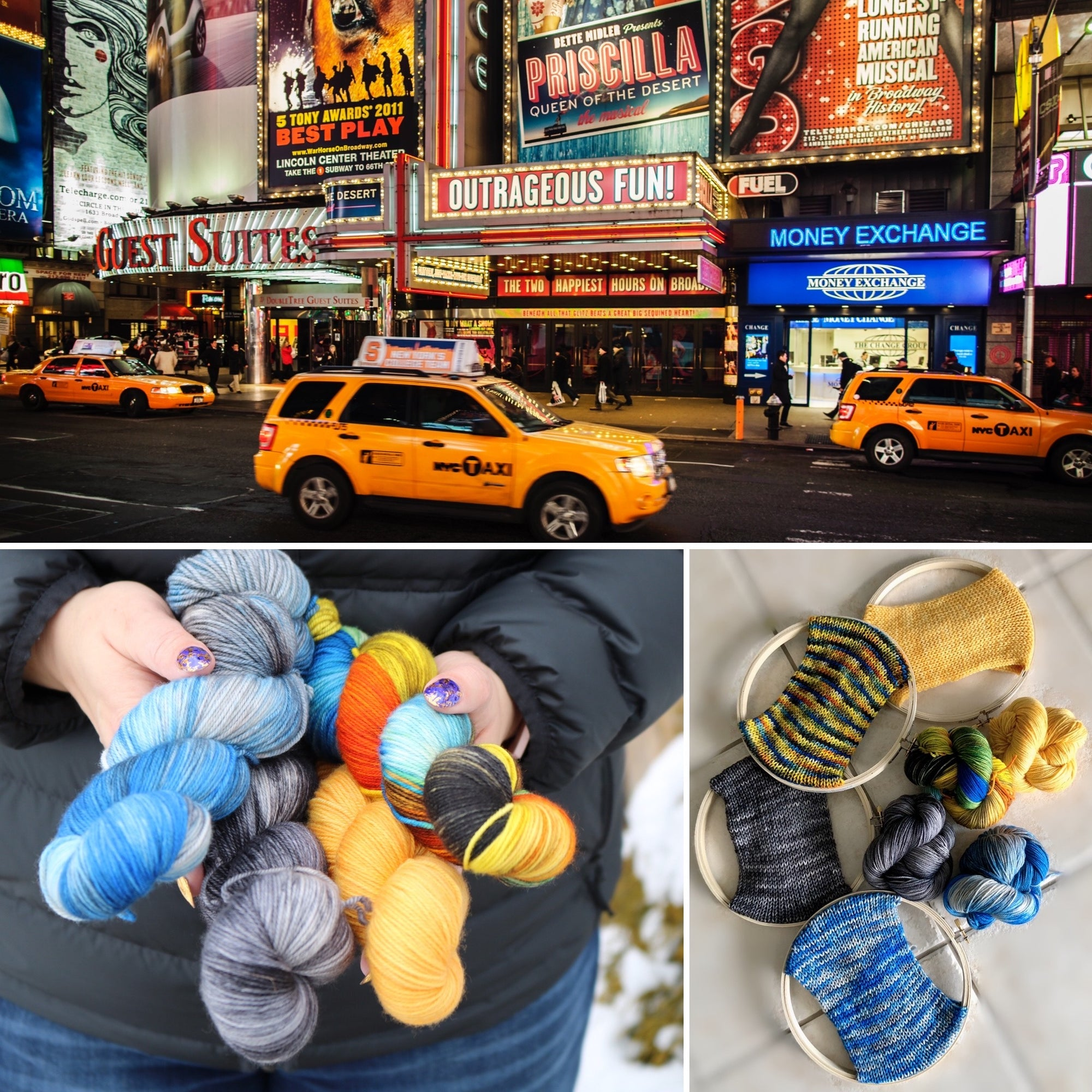 Broadway Inspired Yarn Kit