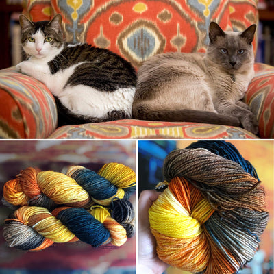 Knitters Series - Too Cool Cats