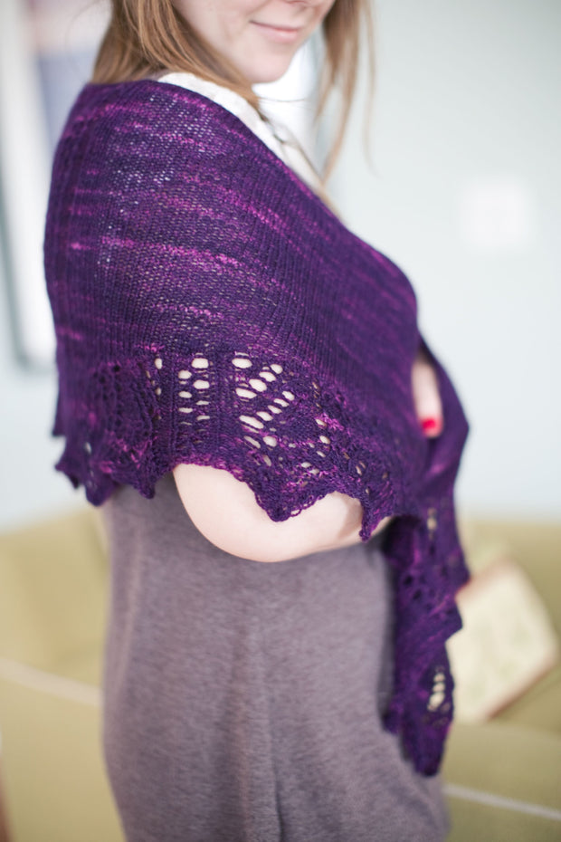 Jacinto Shawl Kit (includes pattern)