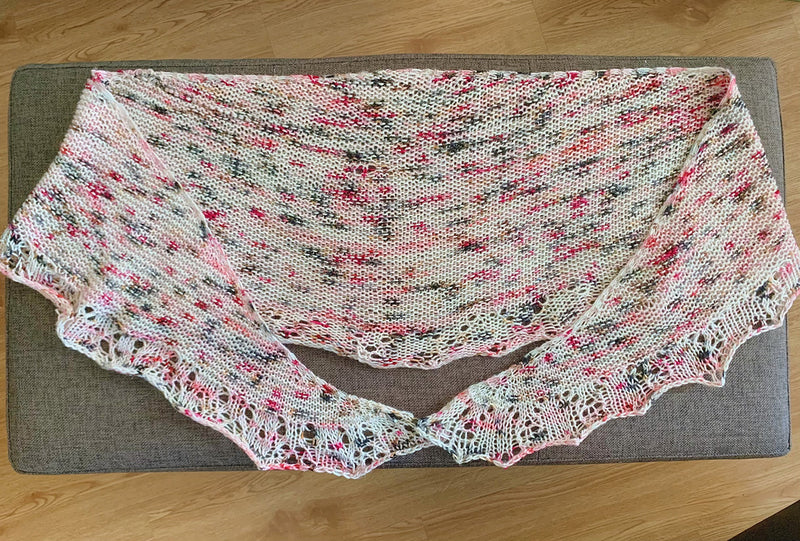 Romance Novel Shawl Kit (includes pattern)