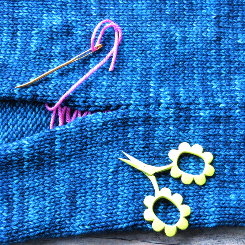 Start to Finish: Magic of Mattress Stitch