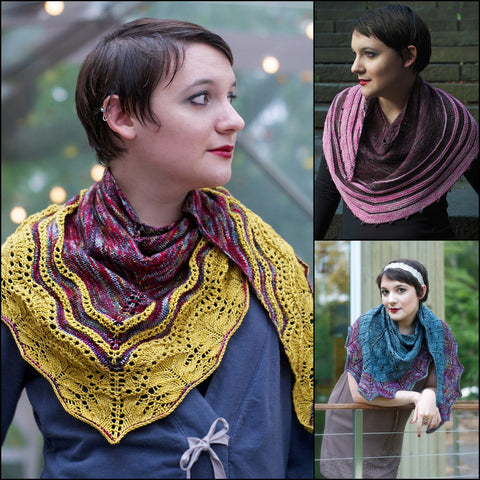 OUT OF THE MIST - 3 Shawl Collection (Pre-Order)
