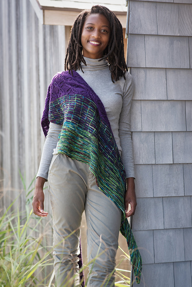 Bojagi Shawl Kit