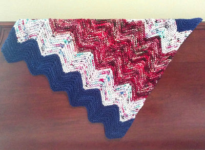 Chevron Baby Blanket Kit - Fabulous Combo