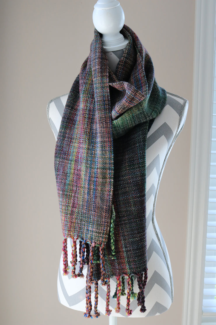 Dish of Pears Handwoven Scarf