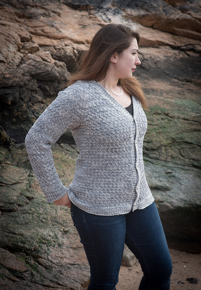 Majuga Cardigan Kit (pattern included)