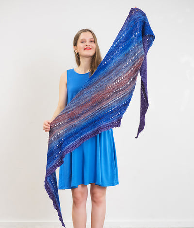 Mish Mash Fade Shawl Kit