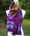 Partygirl Hand dyed Double Ribbed Scarf