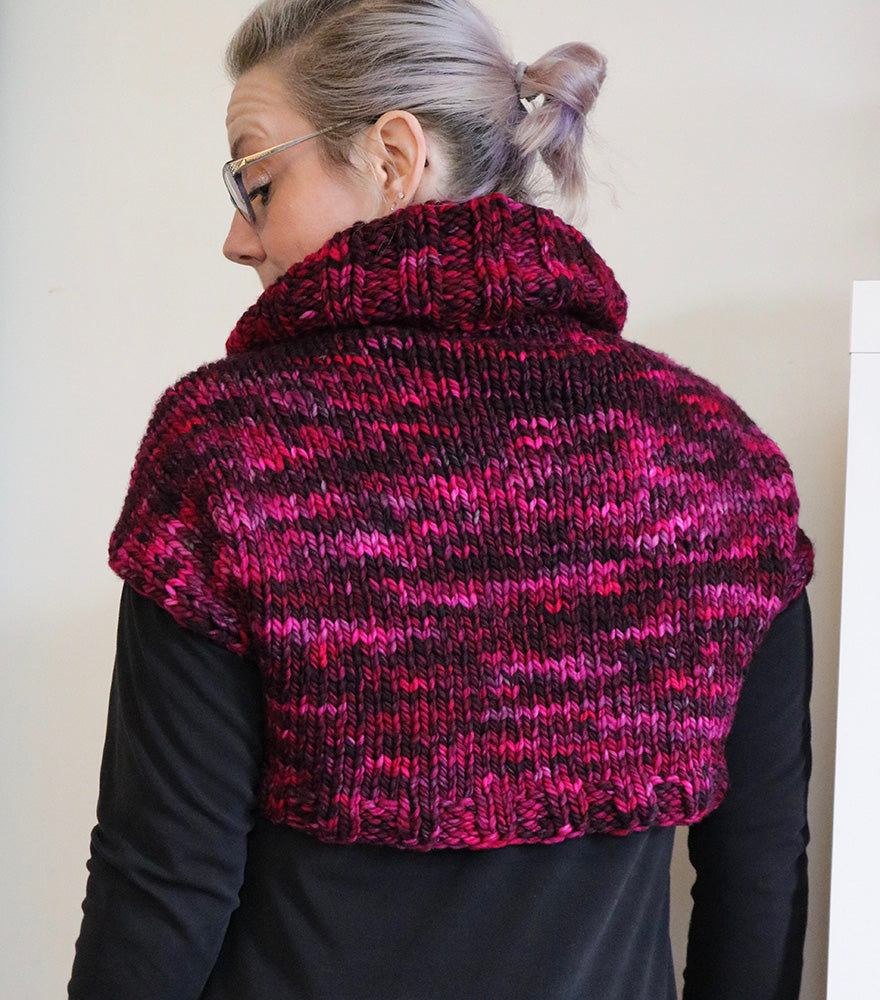 Retro Redux Shrug Kit (pattern included)