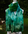 Under the Sea Hand dyed Double Ribbed Scarf