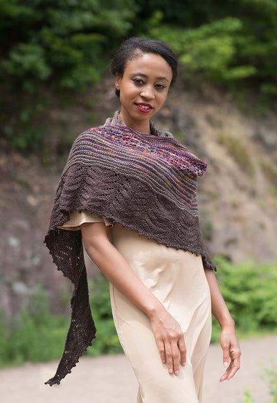 Washed Out Shawl Kit