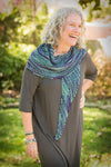 Woollsia Shawl Kit (includes 1 skein Nightshade Infusion)