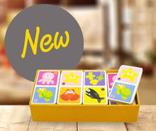 Load image into Gallery viewer, Beehive Toys Marine Domino Set