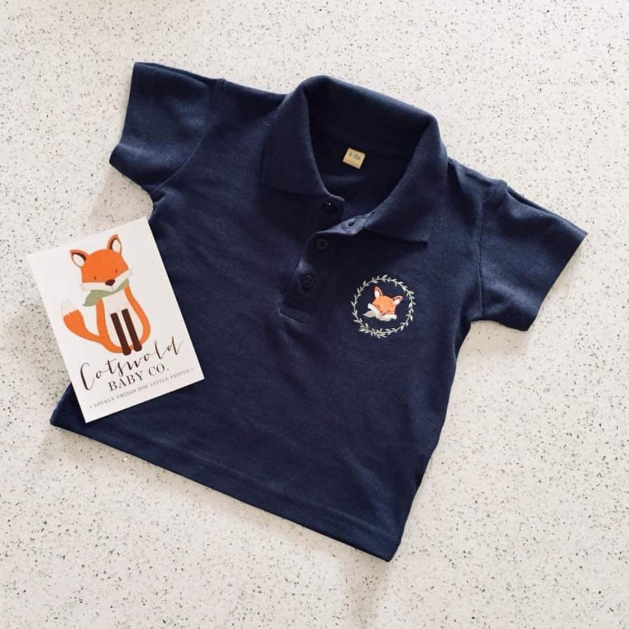 Cotswold Baby Co Fox polo Shirt