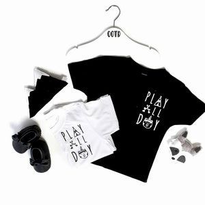 Tiny Tot Tribe t shirt- Play all day
