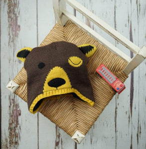 Blade and Rose Big Brown Bear Hat