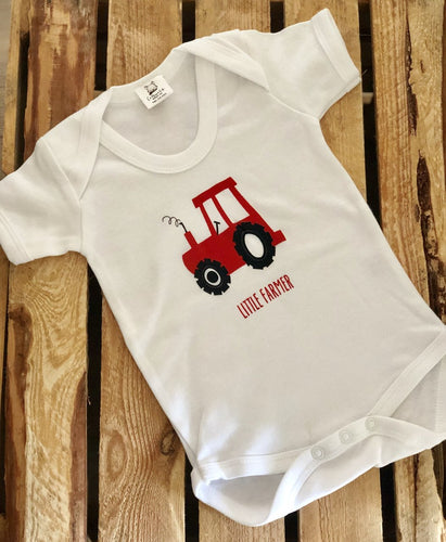 Little farmer body suit