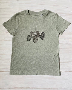 Vintage Tractor Short Sleeve T-Shirt