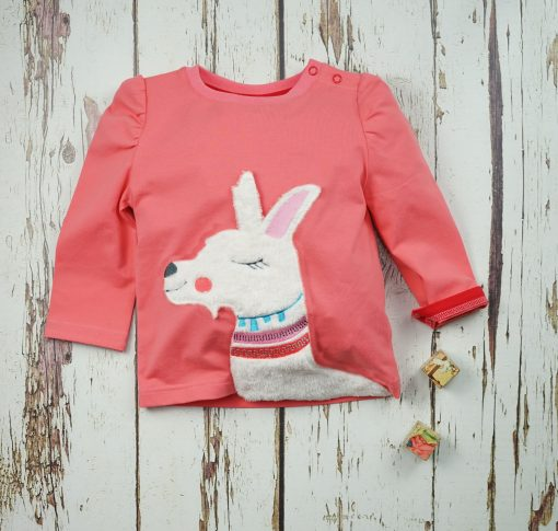 Llama Long Sleeve Top