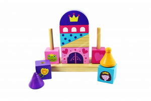 Beehive Toys Stacking Princess Tower