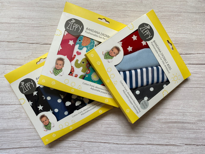Zippy Dribble Bibs