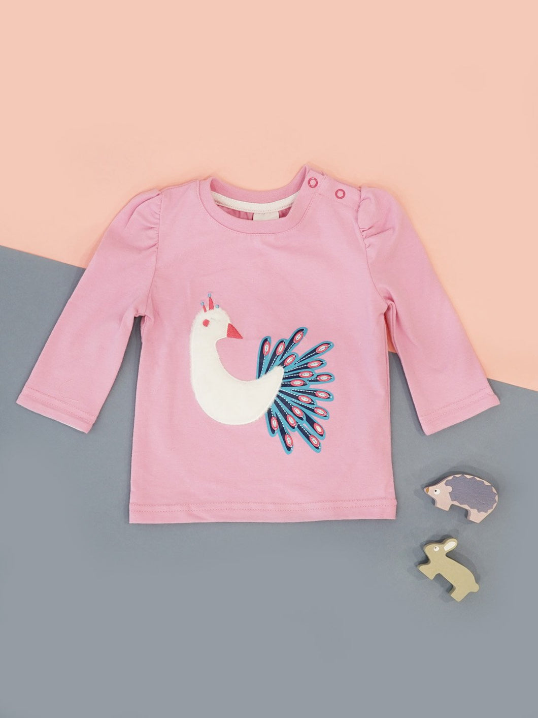 Peacock Long Sleeve Top