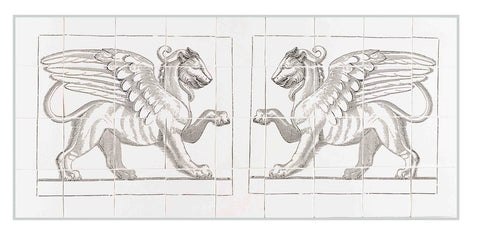 Double Griffin Panel