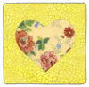 Heart Patchwork tile number 28