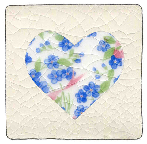 Heart Patchwork tile number 12