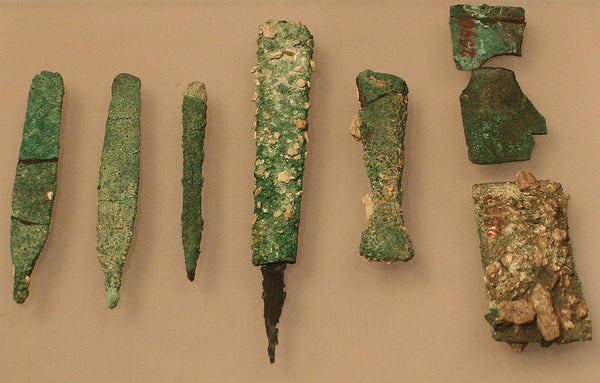 Copper tools from Giza