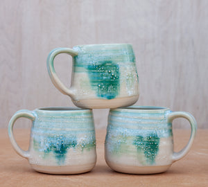 Barnacle Mug in Forest Fog