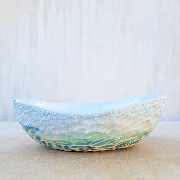 Large Neptune Serving Bowl in Pacific