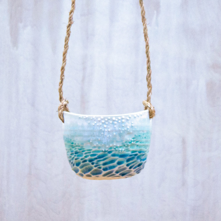 Neptune Hanging Planter - Assorted Colors