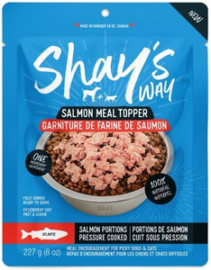 Shay's Way Meal Topper (Atlantic Salmon) - Bully Bunches