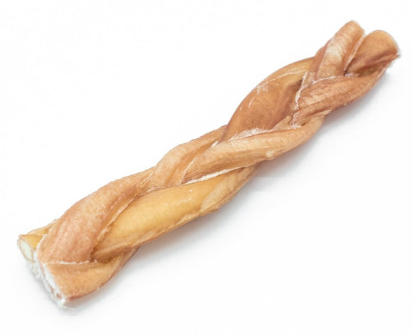 6 Inch Thin Braided Odour-Free Bully Stick - Bully Bunches