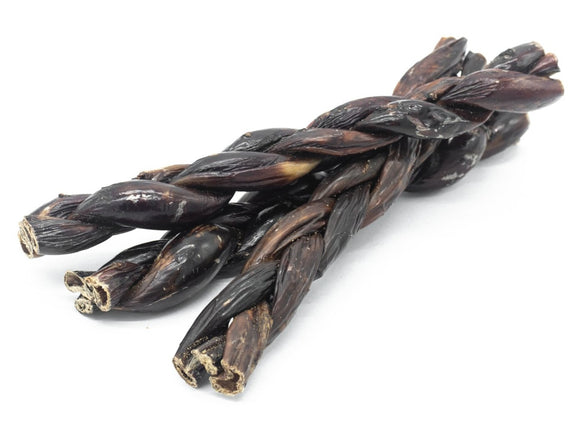12 Inch Braided Jerky Stick - Bully Bunches